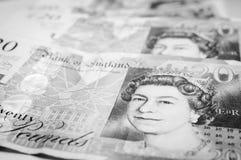 British pounds Stock Image