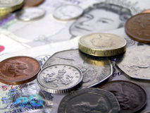 British Pounds money Stock Photography