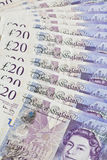 British Pounds Sterling Royalty Free Stock Photo