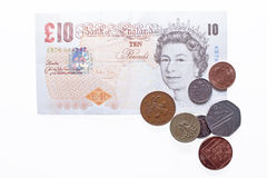 British pounds sterling. Stock Image