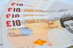 British pounds Stock Photography
