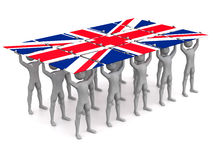 British Pride Stock Photo