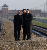 British Prime Minister David Cameron. AUSCHWITZ, POLAND - DECEMBER 10, 2014: British Prime Minister David Cameron during the visit in the Nazi concentration camp Royalty Free Stock Photography
