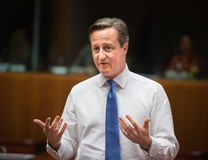 British Prime Minister David Cameron Royalty Free Stock Photography