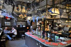 British pub interior Royalty Free Stock Photography