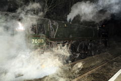 British Rail Standard Class 7 Oliver Cromwell Stock Images