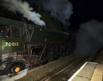 British Rail Standard 7 Oliver Cromwell Royalty Free Stock Image