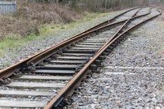 Disused British Rail Track Stock Images