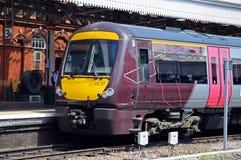 British Rail train, Nottingham. Royalty Free Stock Photos