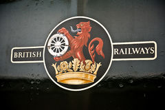 British Railways Decal Logo Stock Photography