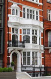 British red brick mansion Royalty Free Stock Photo
