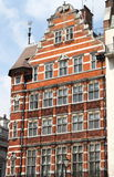 British red brick mansion. A typical british red brick mansion Royalty Free Stock Photography