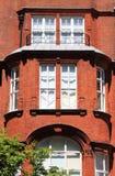 British red brick mansion Stock Photo