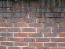 British red brick wall royalty free stock images