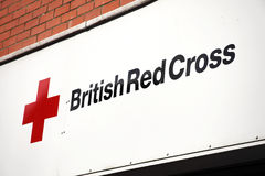 British Red Cross sign