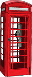 British red phone booth Royalty Free Stock Photo