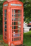 British Red Phone Box Stock Image