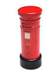 British red post box Royalty Free Stock Image