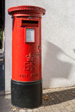 British red post box Royalty Free Stock Photo