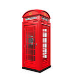 British Red Telephone Booth Stock Images