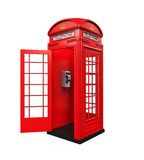 British Red Telephone Booth Stock Photography