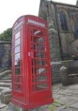 British Red Telephone Box Stock Photo