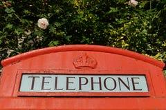 British Red Telephone Box Stock Images
