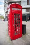 British red telephone box Royalty Free Stock Photo