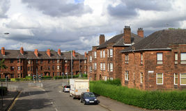 British residential area Stock Photo