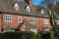 British residential house. Typical british residential house Royalty Free Stock Photos