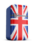 British retro fridge Royalty Free Stock Photography