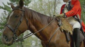 British Revolutionary War general on a horse