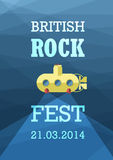 British Rock Stock Image