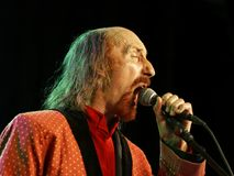 British rock singer - Arthur Brown Royalty Free Stock Photography