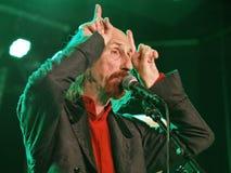 British rock singer - Arthur Brown Royalty Free Stock Photos