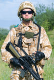 British Royal Commando Stock Image