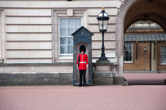 British Royal Guard on duty Royalty Free Stock Images