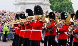 British Royal Guard of Honor Stock Photo