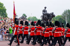 British Royal Guard of Honor Stock Photography