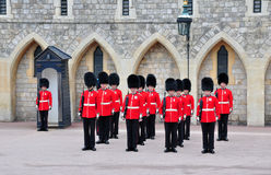 British royal guards Stock Photos