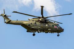 Free British Royal Navy AW101 Merlin Helicopter Royalty Free Stock Images - 132003899