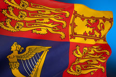 British Royal Standard - United Kingdom Stock Photography