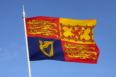 British Royal Standard - United Kingdom Royalty Free Stock Photo