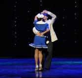 The British sailors dance-Retro dance-the Austria's world Dance Stock Image