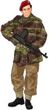 British SAS Soldier Royalty Free Stock Photography