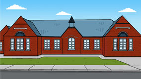 British school vector illustration Stock Image