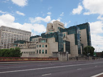 British Secret Service in London. LONDON, UK - CIRCA JUNE 2017: SIS MI6 headquarters of British Secret Intelligence Service at Vauxhall Cross London Stock Photography