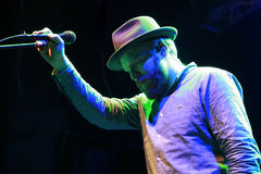 British singer Alex Clare Royalty Free Stock Image