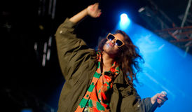 British singer M.I.A Stock Photography