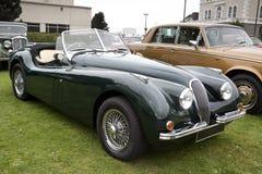 British soft top classic car Stock Images